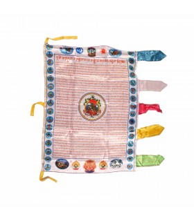 Mantra printed flag