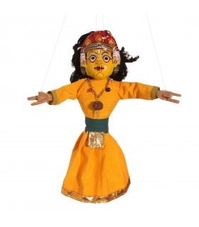 Nepalese dancing puppet