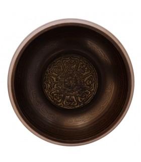 Symbols Etched On Singing Bowl