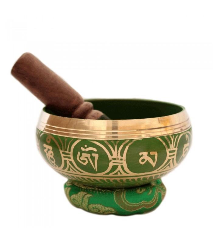 Jade Green Singing Bowl