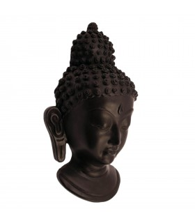 Buddha's Face Sculpture