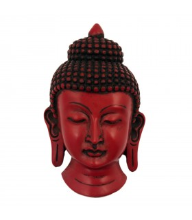 Red Buddha's Mask