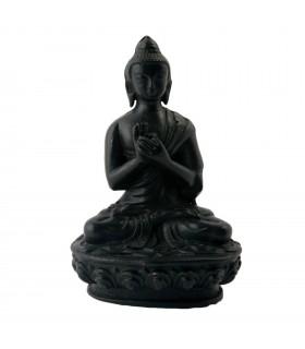 Meditating statue of Buddha