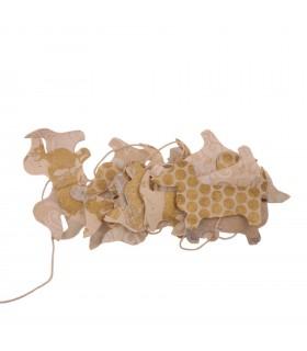 Dog Paper Garland Decoration