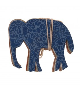 Elephant Paper Garland Decoration