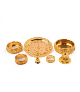 Gold Plated Mandala Set