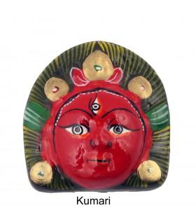 The Astamatrika Clay Mask
