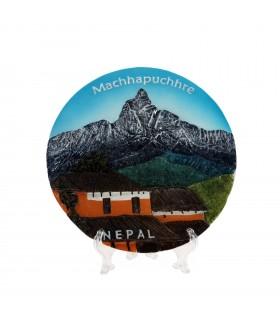 Mountain Machhapuchre souvenir