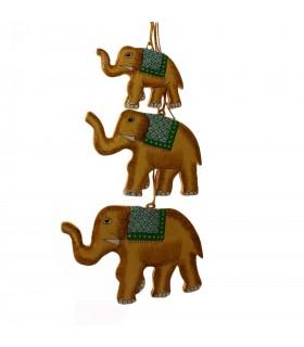 Elephant Christmas décor
