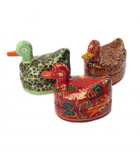 Paper Mache duck box